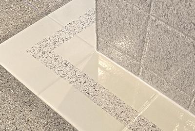 refinished tile