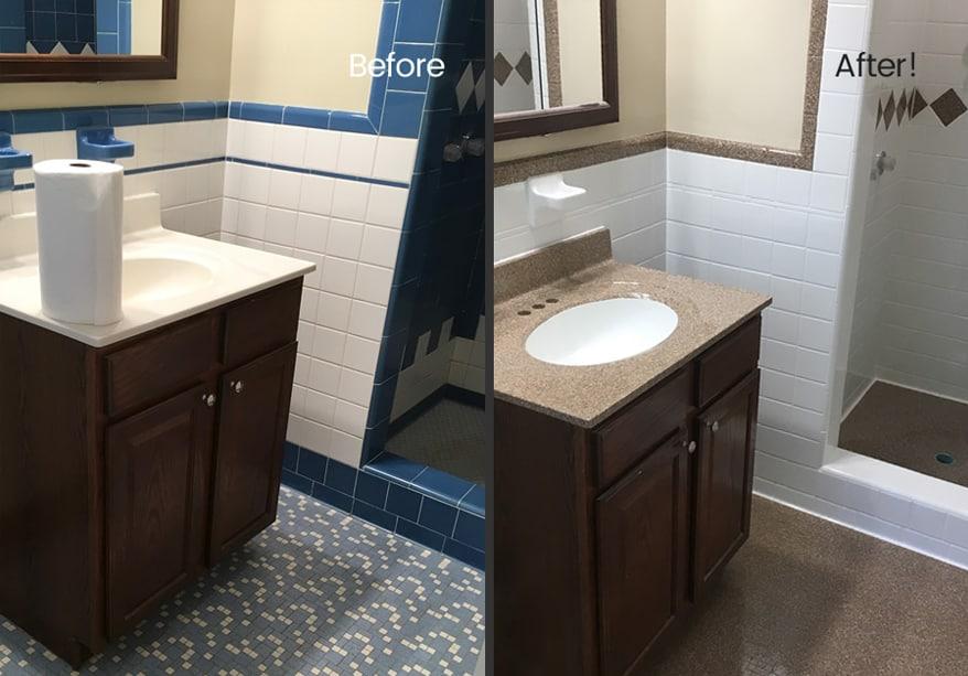 customize tile refinishing